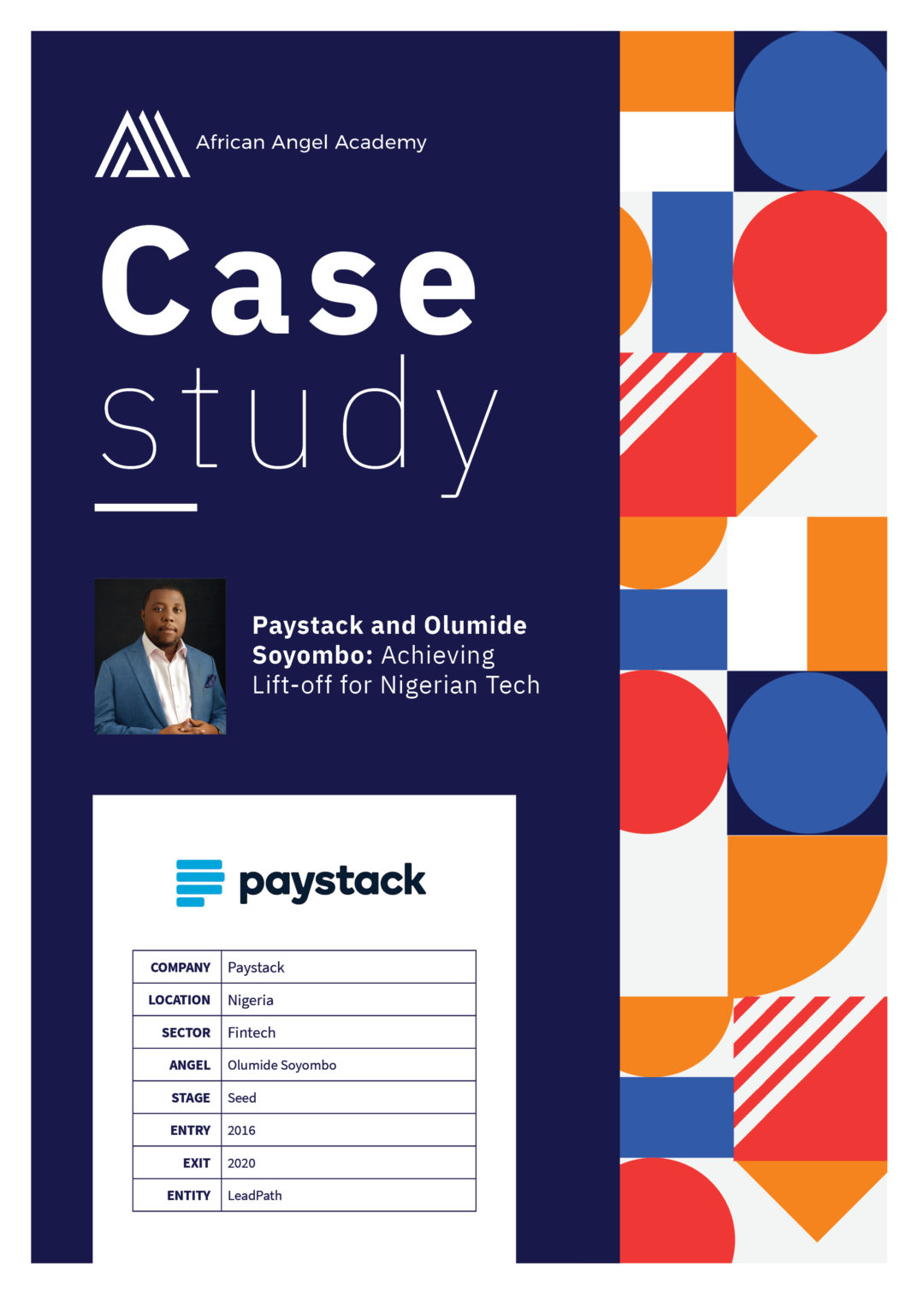 Paystack and Olumide Soyombo: Achieving Lift-off for Nigerian Tech