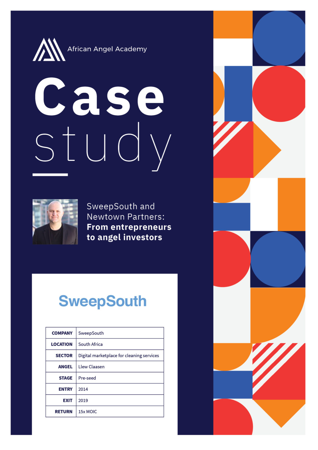 SweepSouth and Newtown Partners: From entrepreneurs to angel investors